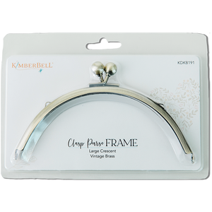 Kimberbell Clasp Purse Frame-Large Crescent