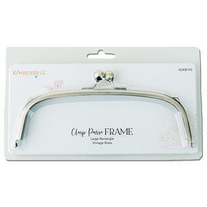 Kimberbell Clasp Purse Frame-Large Rectangle
