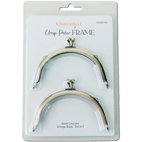 Kimberbell Clasp Purse Frame – Small Crescent