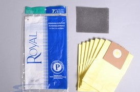 Royal Type P Vacuum Bags (7 Pack)