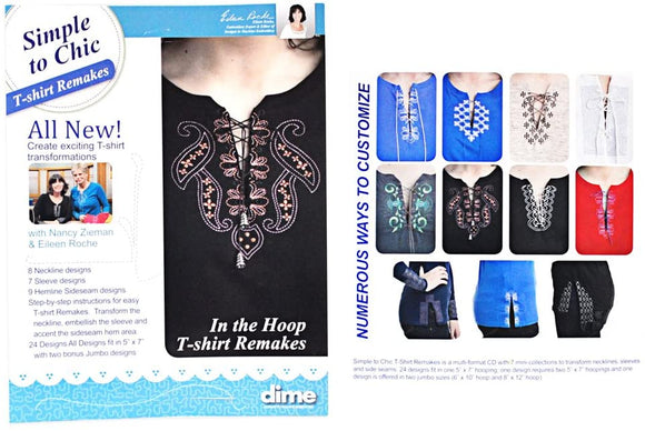 DIME Simple to Chic T-Shirt Remakes CLOSEOUT!
