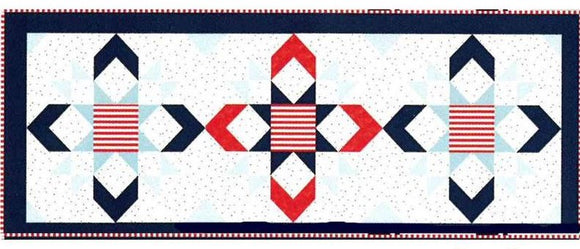 Riley Blake Stars & Stripes Table Runner Kit