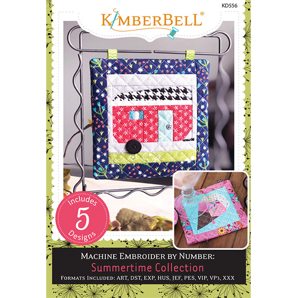 Kimberbell Summertime Collection Machine Embroidery CD