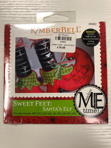 Kimberbell Sweet Feet:  Santa's Elf  (DISCONTINUED)