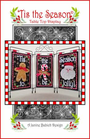 Tis The Season Table Top Display by Janine Babich Designs