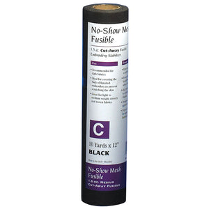 Stabilizer Fusible No-Show (Black)