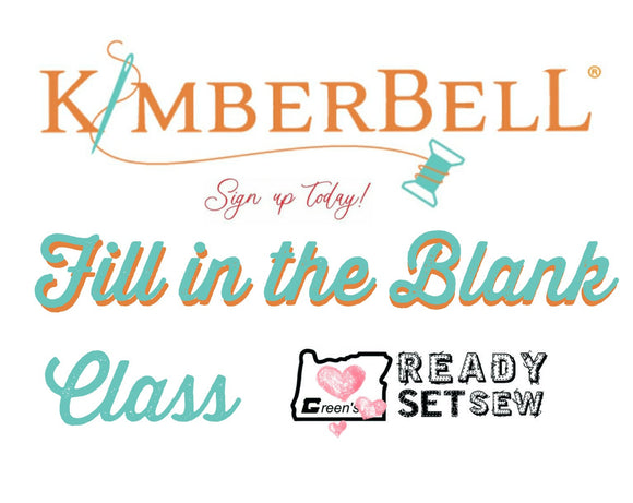 KIMBERBELL FILL IN THE BLANK MARCH VIRTUAL CLASS