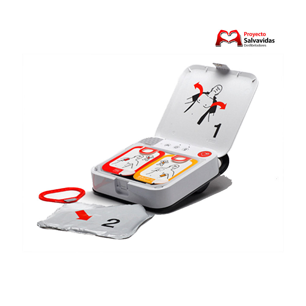 Parche electrodo ORIGINAL adulto Lifepak CR2 Physhio Control
