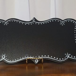 Horizontal Tabletop Chalkboard