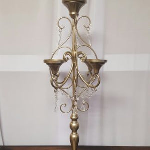 Gold Candelabra Large