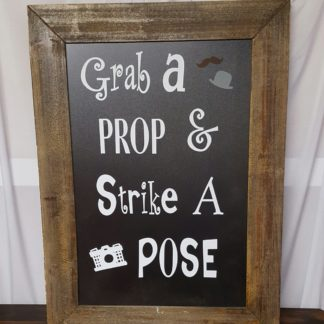 Grab a Prop Sign