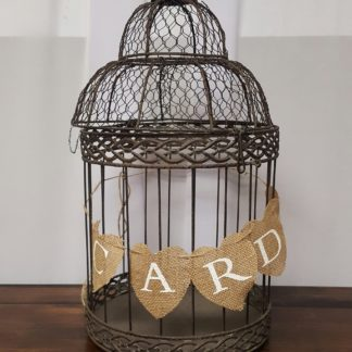 Large Brown Birdcage