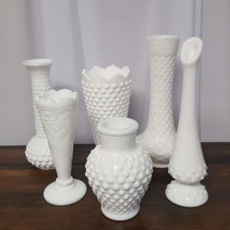 Milk Glass - Assorted