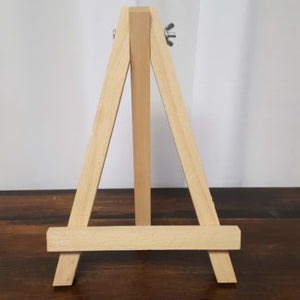 Natural Wood Tabletop Easel