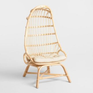 Rattan Cocoon Chairs