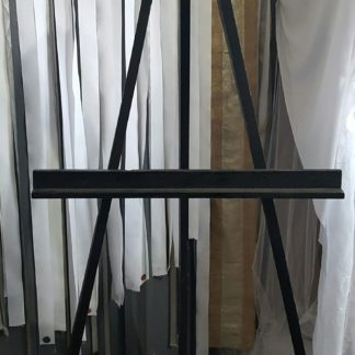 Tall Black Easel