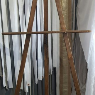 Tall Brown Easel