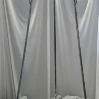 Tall Silver Easel