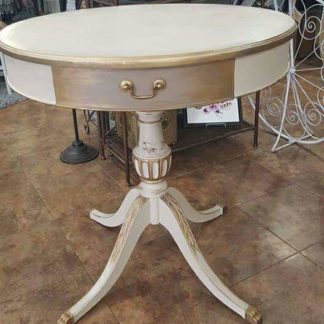 Ivory Round Table