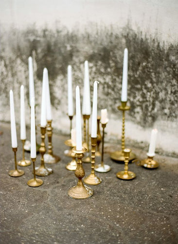 Brass Candlesticks - Assorted