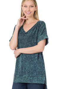 Pink Leather Earring