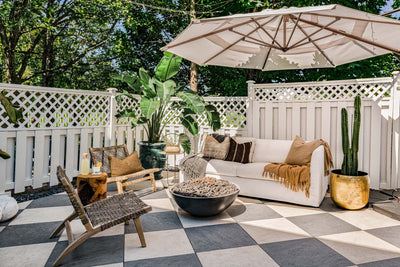 Backyard Transformation With Outdoor Patio