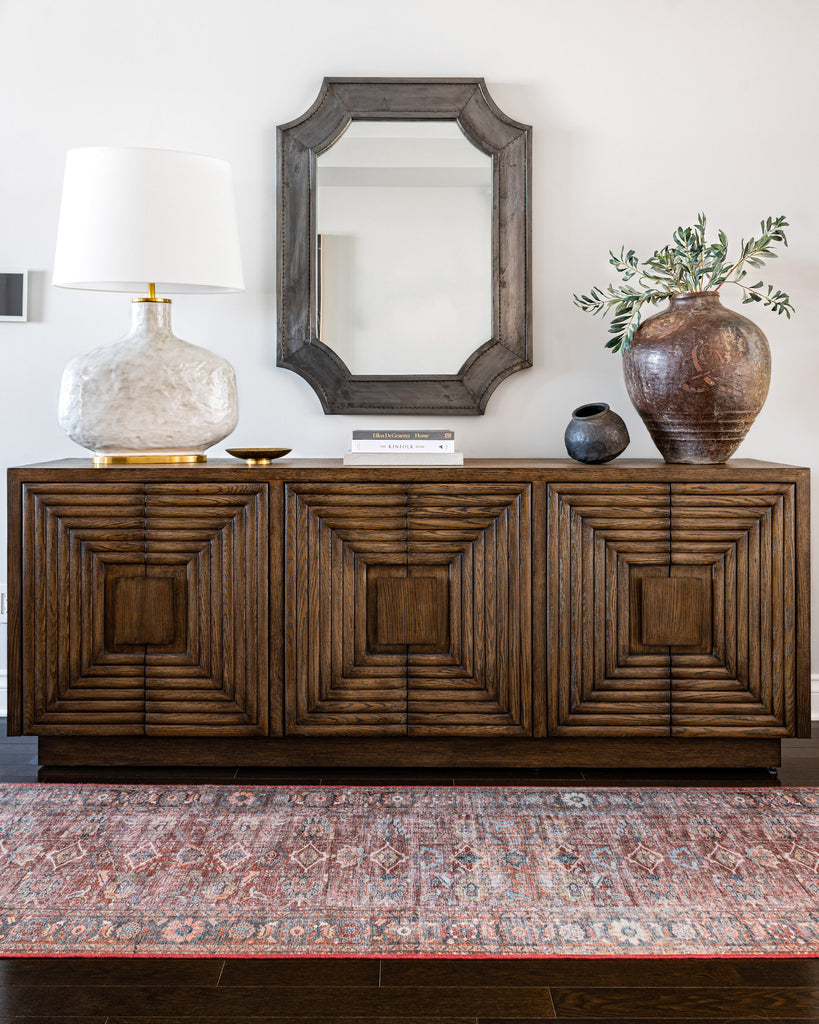 Classic styled dining room credenza