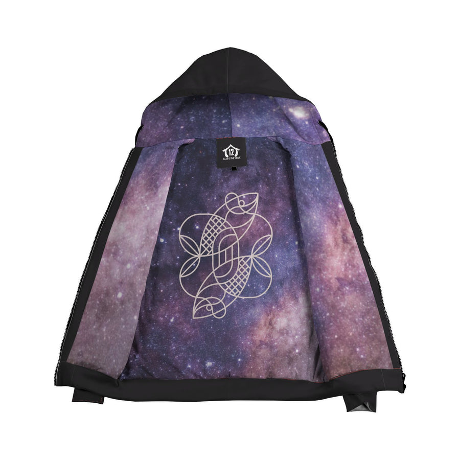 Zodiac Sign Double-lined Zip-up Hoodie - House of the Twelve