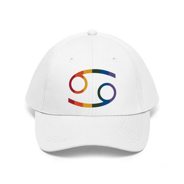 Embroidered Zodiac Sign Pride Twill Hat - House of the Twelve