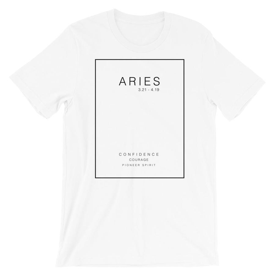 Zodiac Sign Strengths Unisex T-Shirt - House of the Twelve