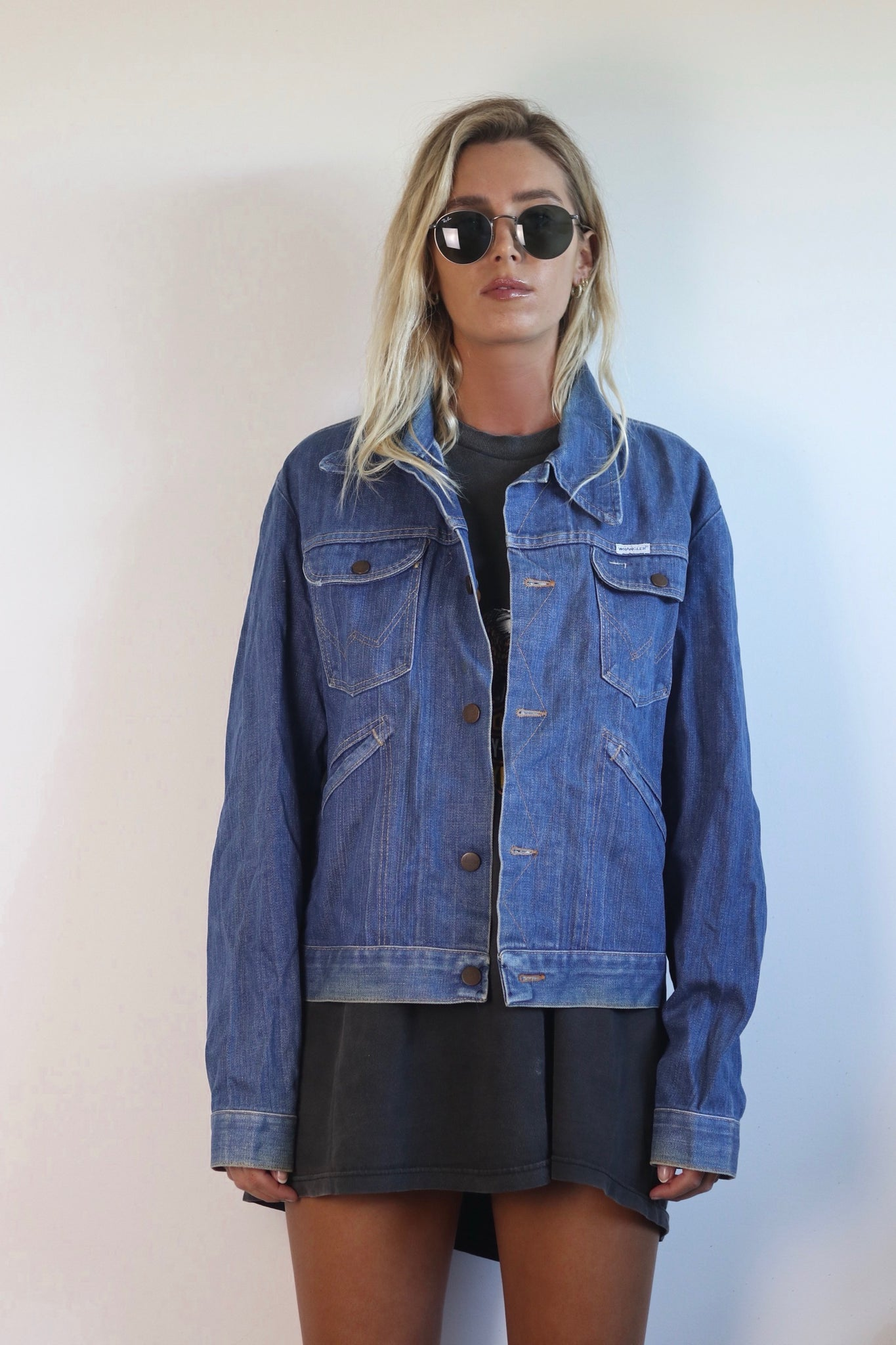 Joe Denim Jacket - Westside Vintage Co
