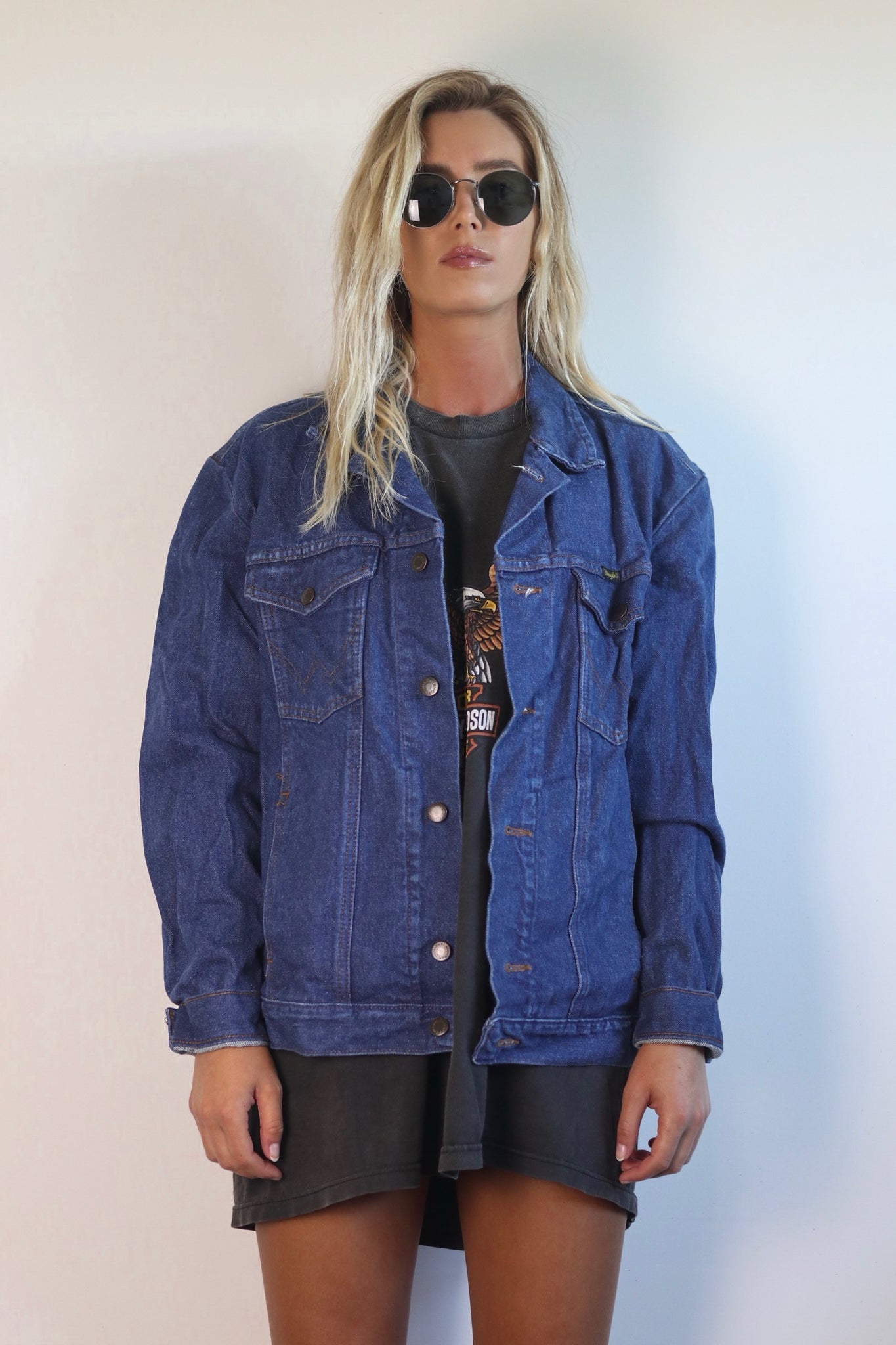 Candy Denim Jacket - Westside Vintage Co