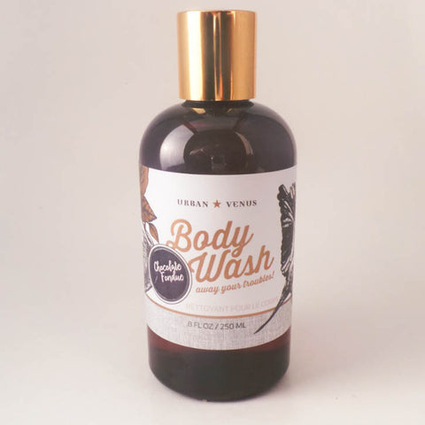 Chocolate Fondue Body Wash