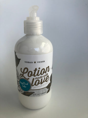 Angel Food Cake Lotion Made With Love