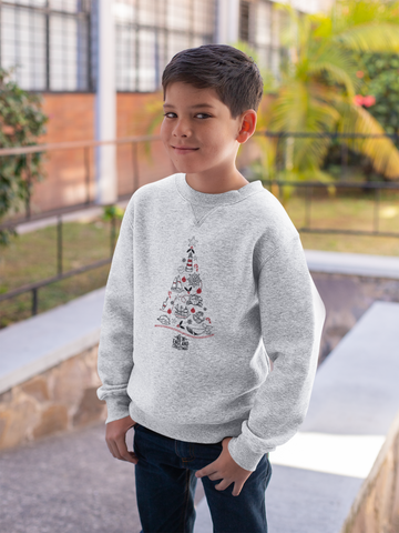 Youth Christmas Sweatshirt by Citizen Maine
