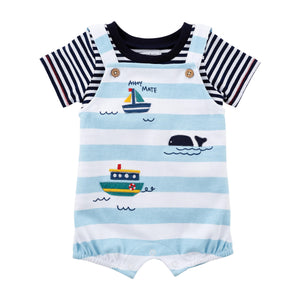 sailboat onesie set