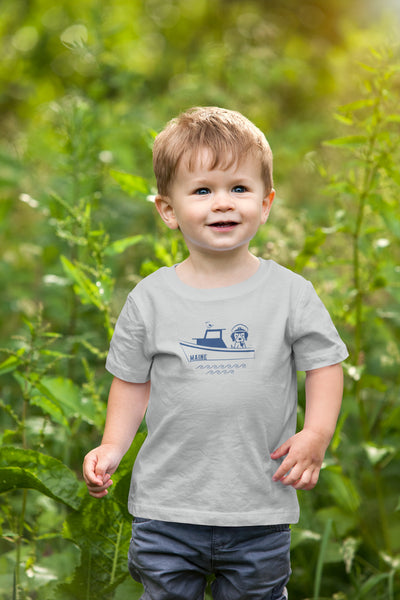 eather grey maine toddler tee