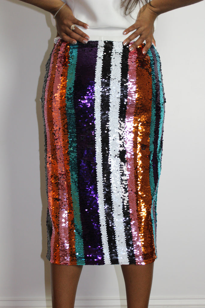 Tiffany Sequin Skirt