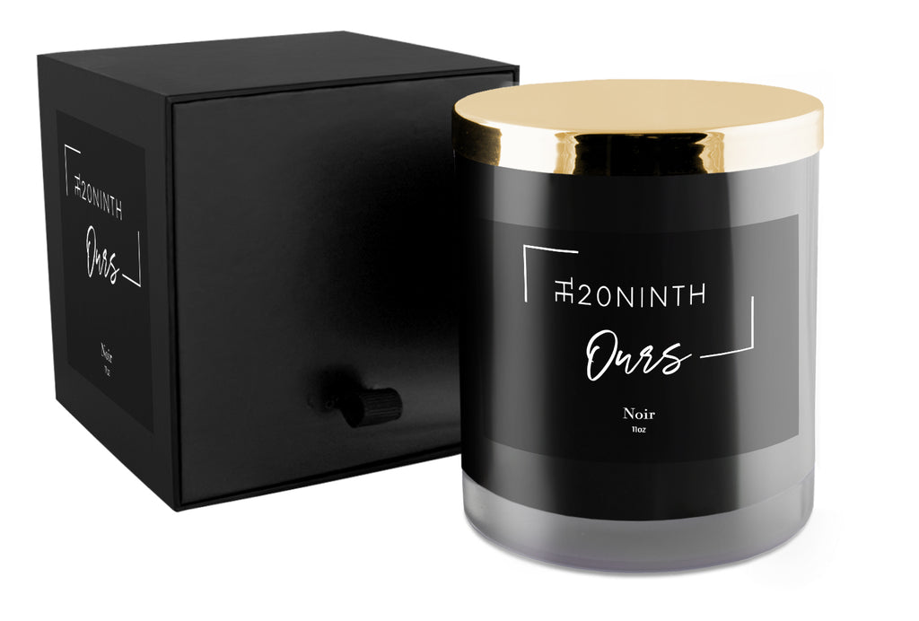 The20Ninth Ours Candle - Noir