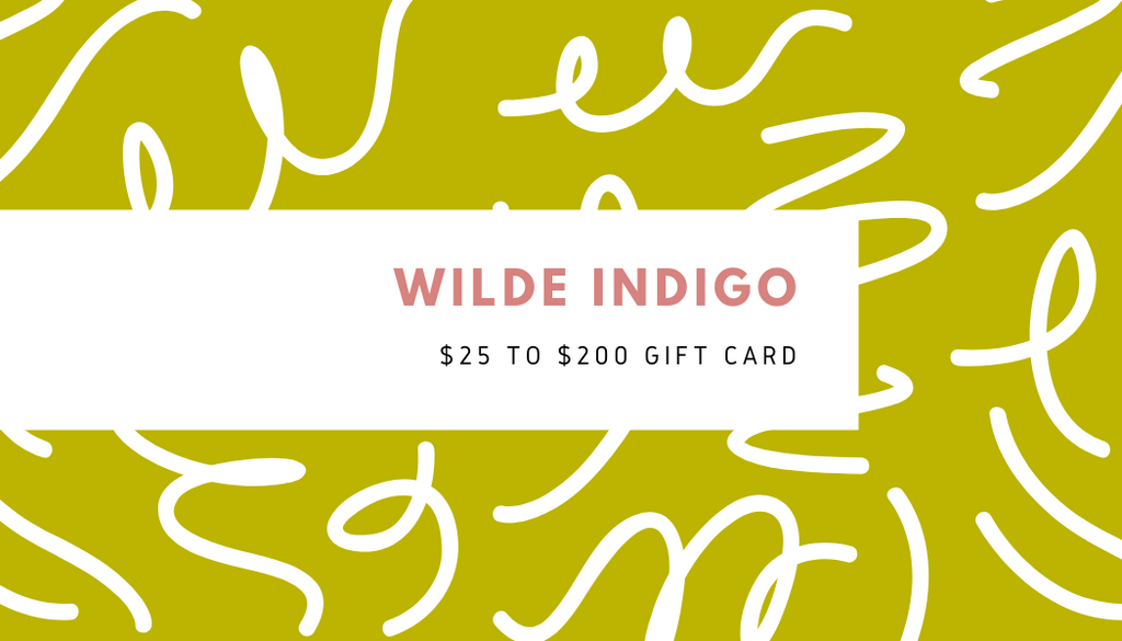 SHOP WILDE INDIGO GIFT CARDS