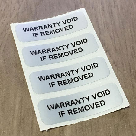 Void Imprint Labels