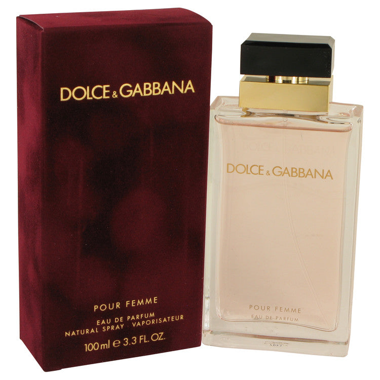 Dolce & Gabbana Pour Femme by Dolce & Gabbana Eau De Parfum Spray 3.4 oz for Women