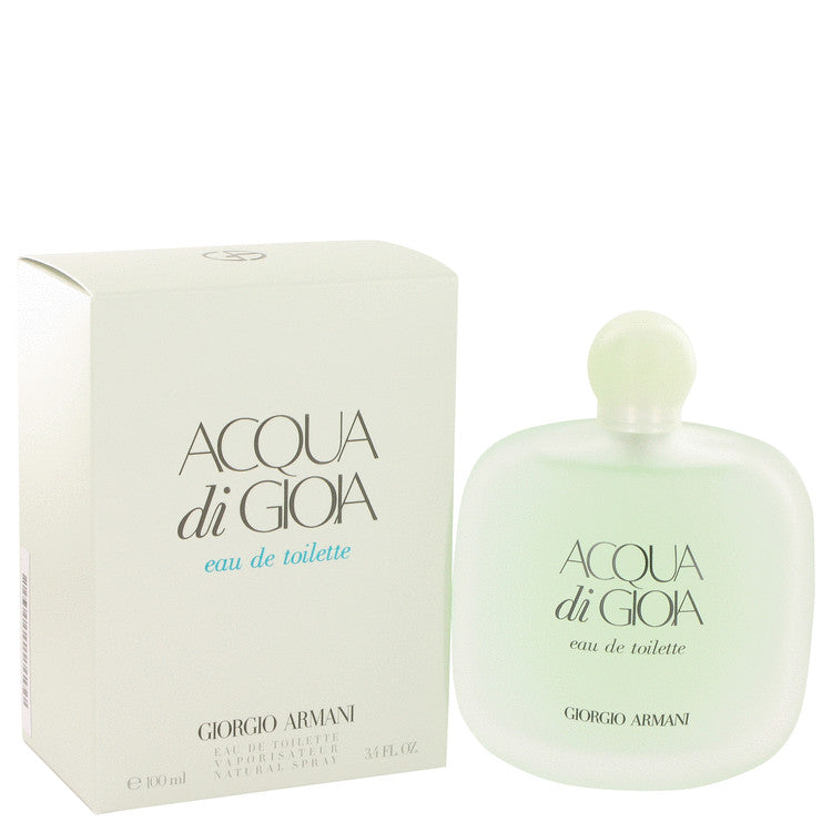Acqua Di Gioia by Giorgio Armani Eau De Toilette Spray 3.4 oz for Women