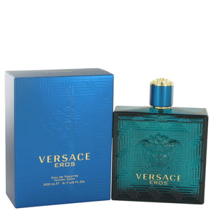 Versace Eros by Versace Eau De Toilette Spray 6.7 oz for Men