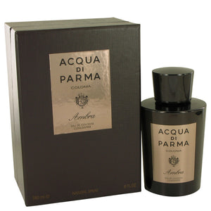 Acqua Di Parma Colonia Ambra by Acqua Di Parma Eau De Cologne Concentrate Spray 6 oz for Men