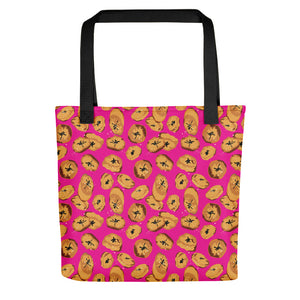 Plantains Tote bag_Pink