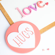 "Load image into Gallery viewer, 8"" CANDY HEART rounds"