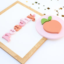 "Load image into Gallery viewer, 15"" PEACHY square"