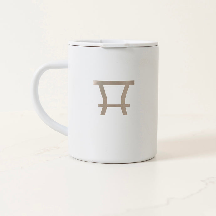 The Traveler Mug - White