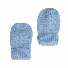 Load image into Gallery viewer, Baby Knitted Mittens Gloves Size 0-12 Months